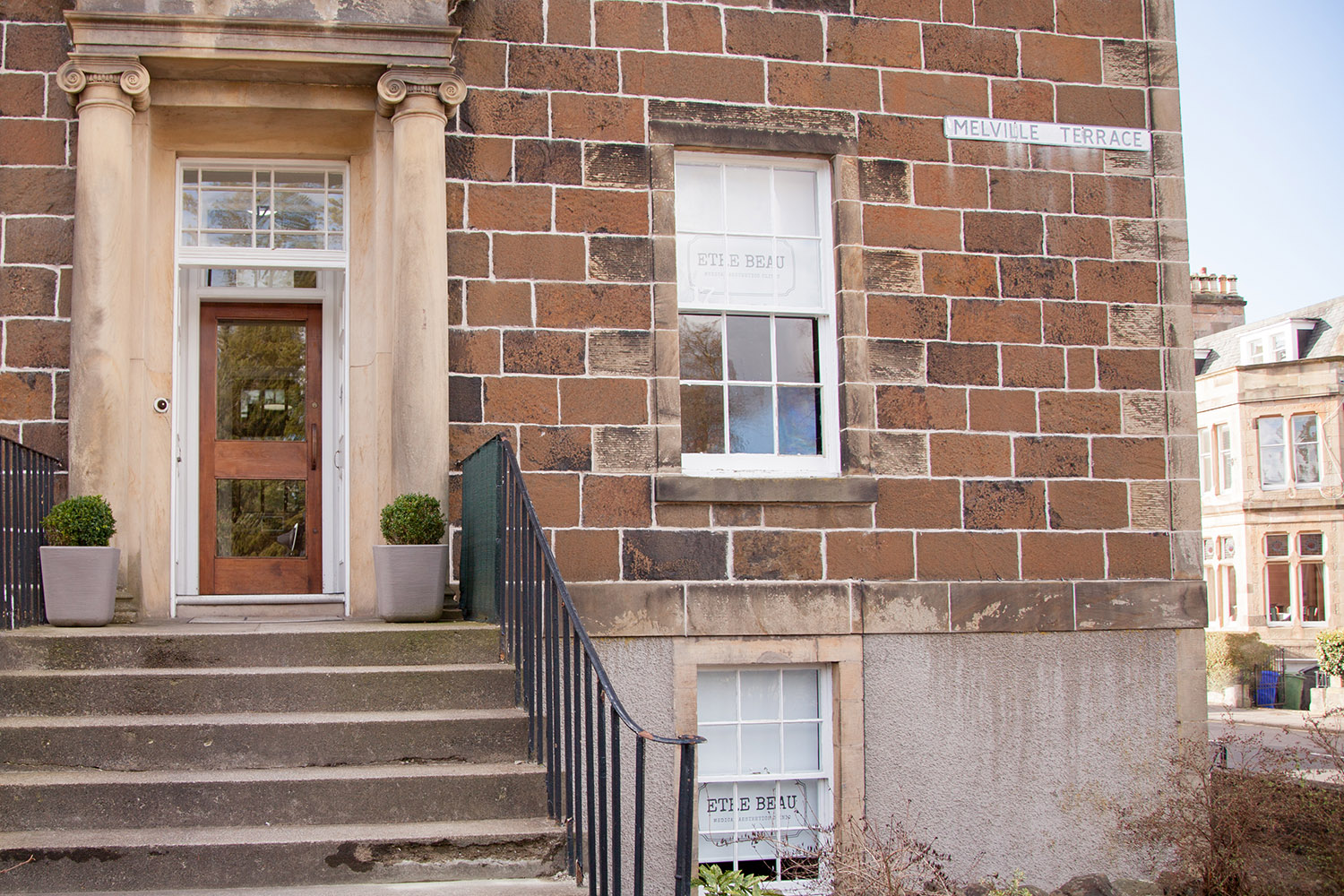Our Stirling clinic where we offer dermal fillers and other facial aesthetic treatments